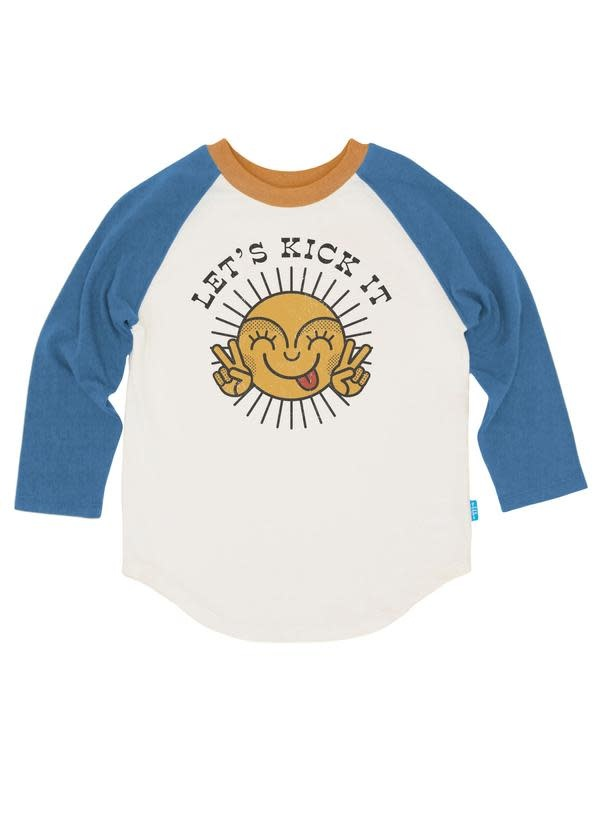 feather 4 arrow feather 4 arrow | Let's Kick It Raglan Tee