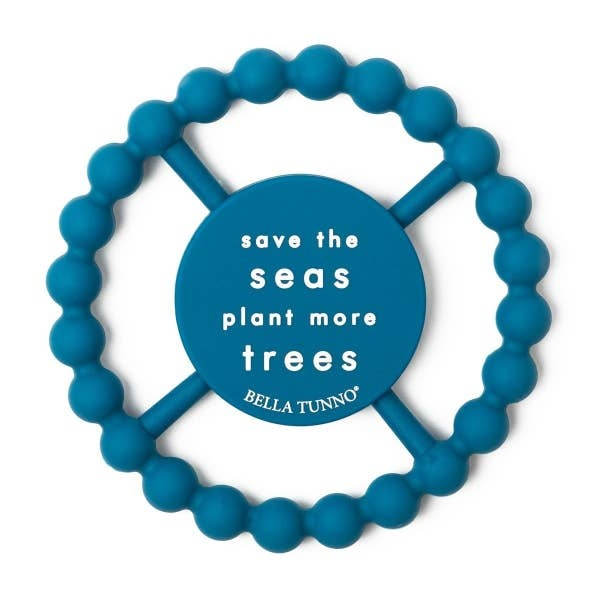 Bella Tunno Bella Tunno Happy Teether   Save the Seas