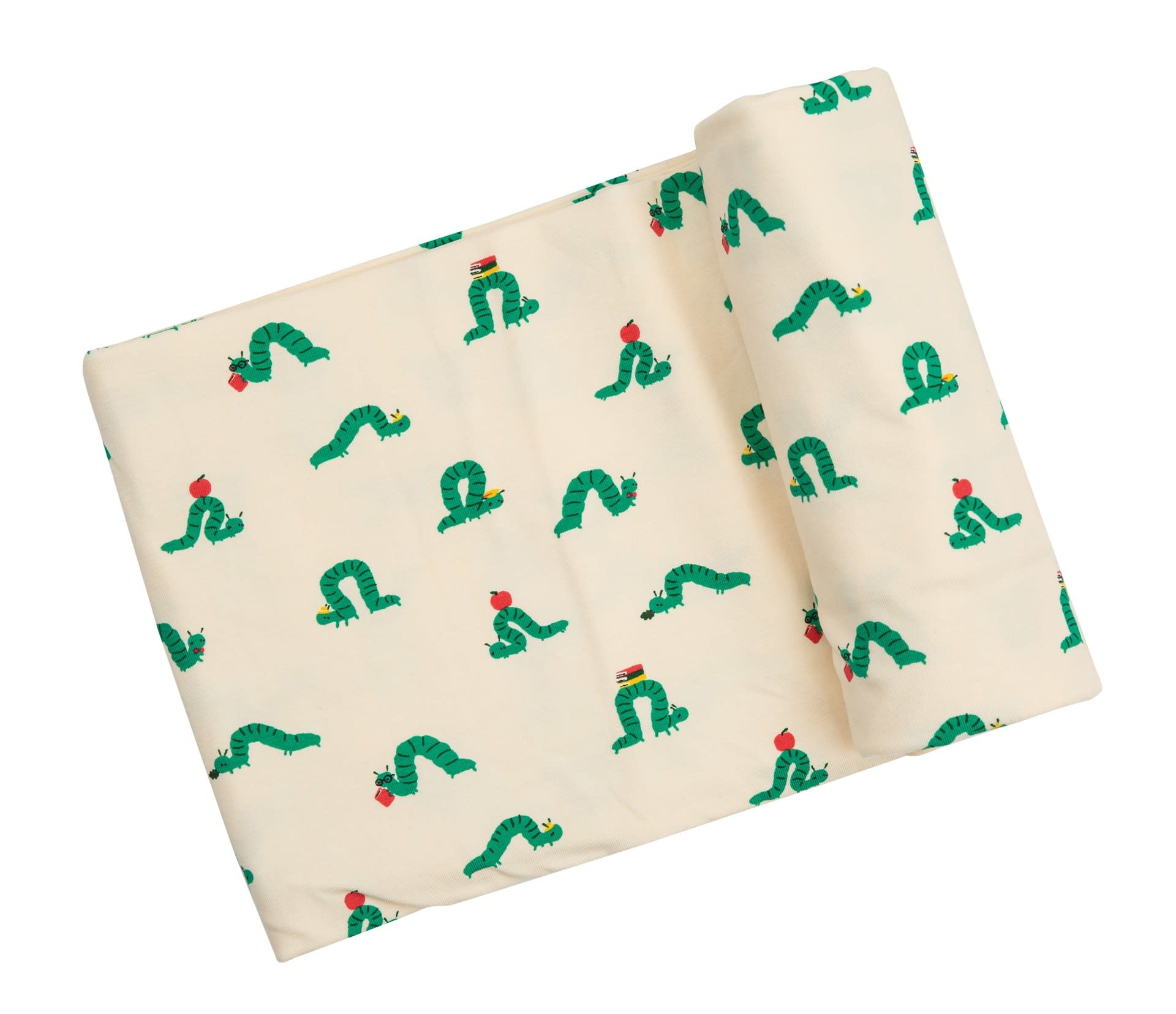 Angel Dear Angel Dear | Inchworm Swaddle Blanket