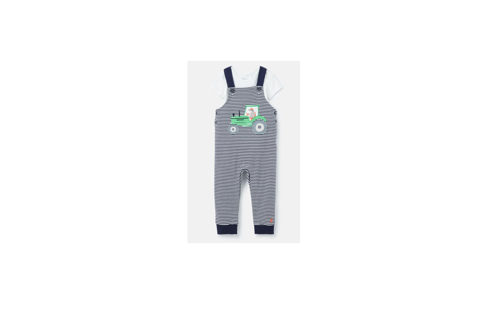 Joules Joules | Navy Tractor Overall Set