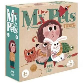 LONDJI LONDJI | I Love My Pets Puzzle