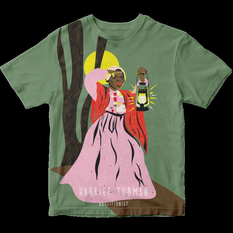Piccolina Piccolina | Harriet Tubman Short Sleeve Tee