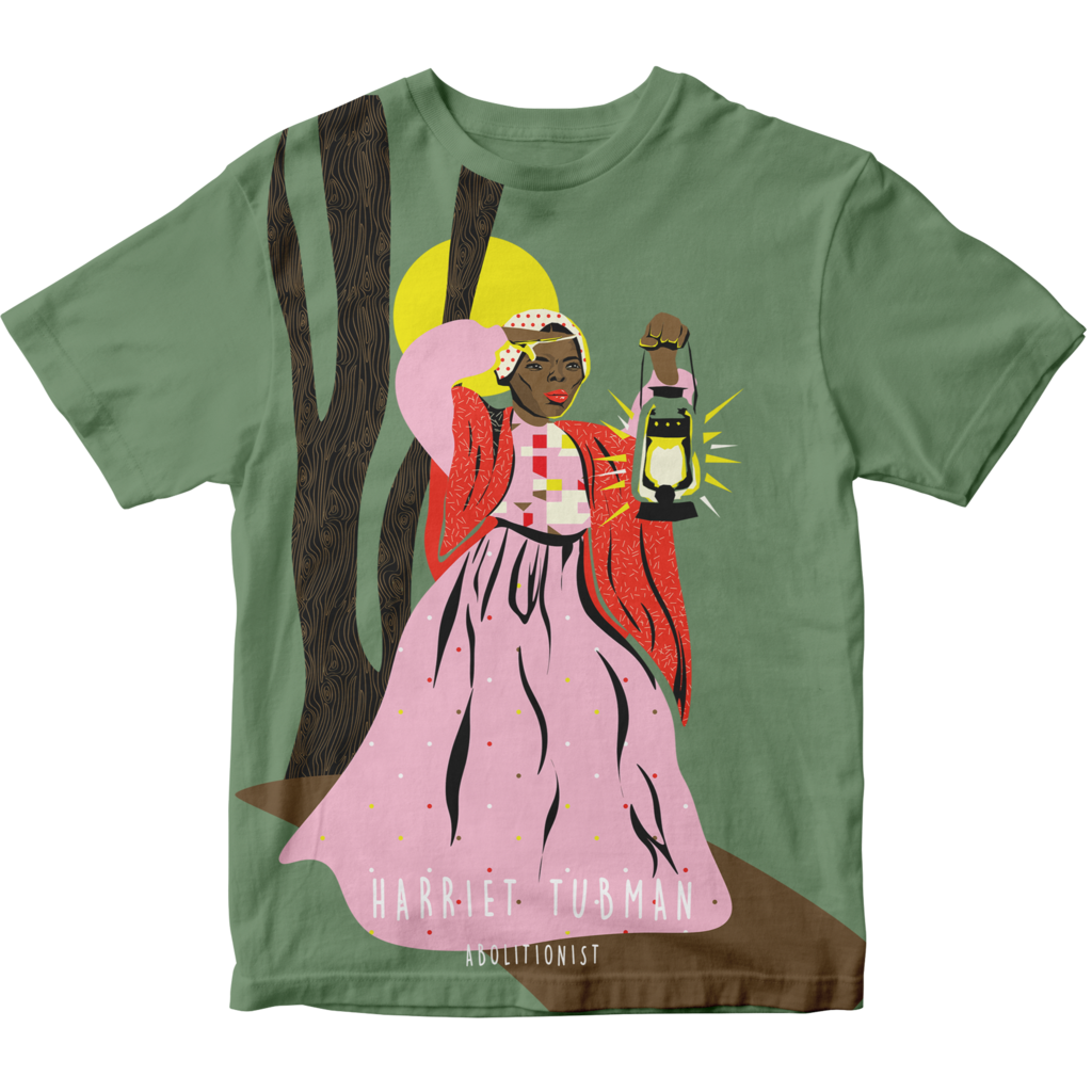 Piccolina Piccolina | Harriet Tubman Short Sleeve Tee