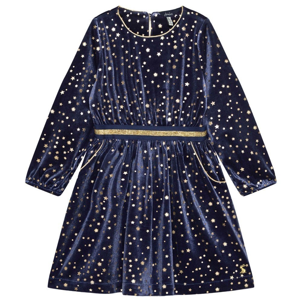 Joules Joules | Velvet Stars Party Dress