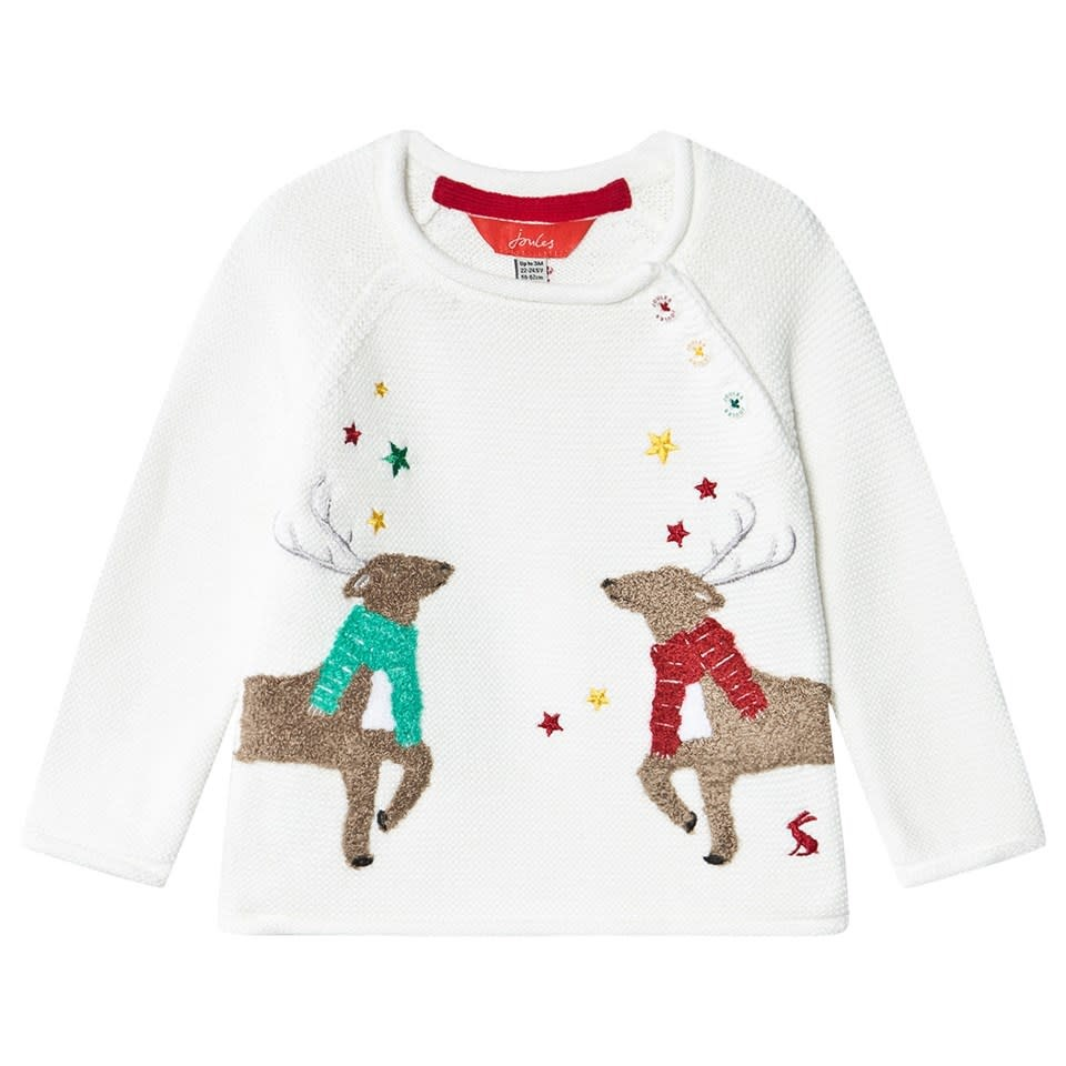 Joules Joules | Reindeer Knit Sweater