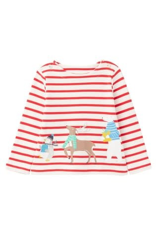 Joules Joules | Blitzen Animals Screenprint Tee