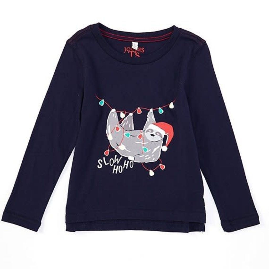 Joules Joules | Holiday Sloth Screenprint Tee