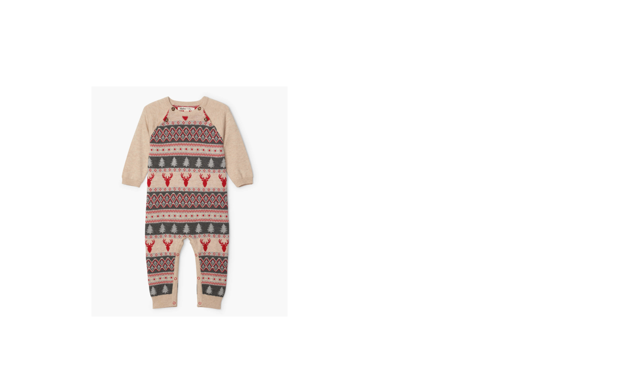 Hatley Hatley | Fair Isle Stags Coverall