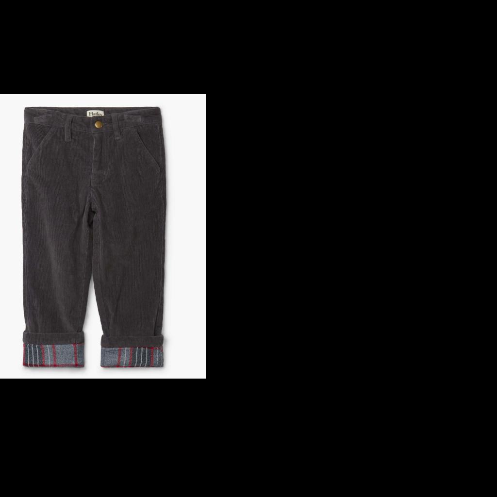 Hatley Hatley | Grey Stretch Cord Pant