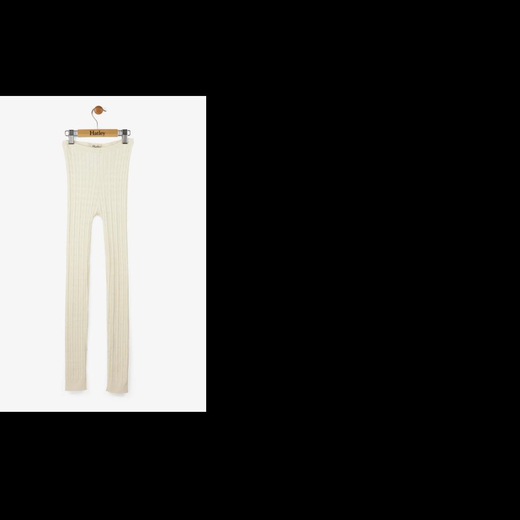 Hatley Hatley   Cream Cable Knit Tights