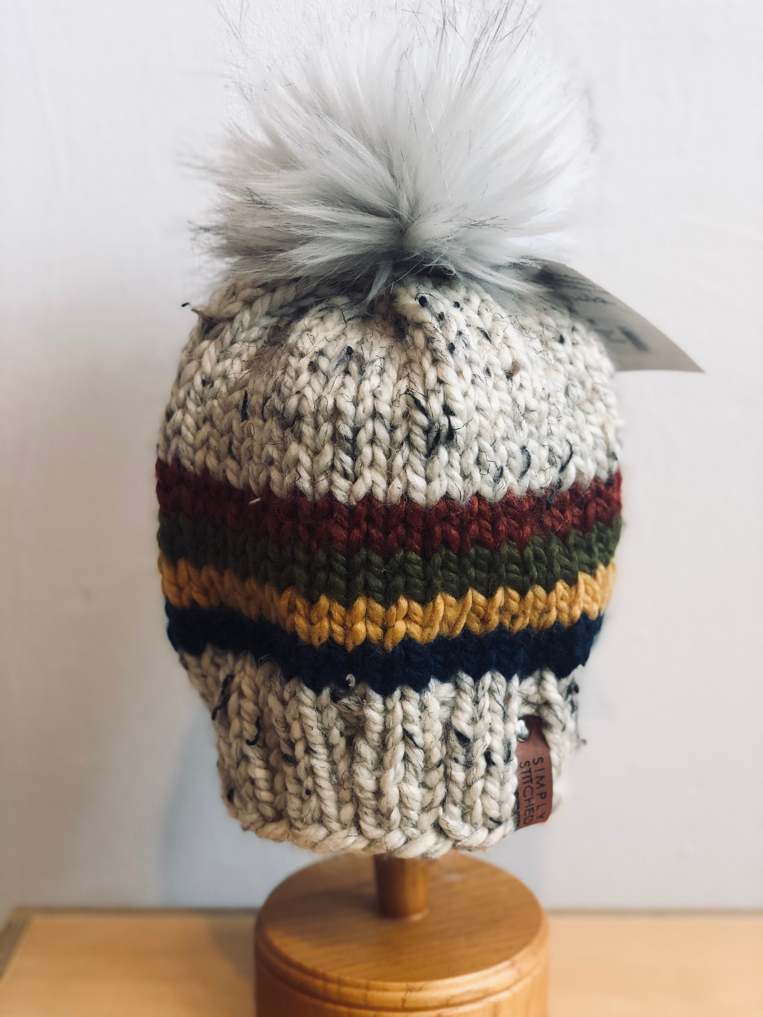 Simply Stitched Simply Stitched | Handmade Little Stripes Hat