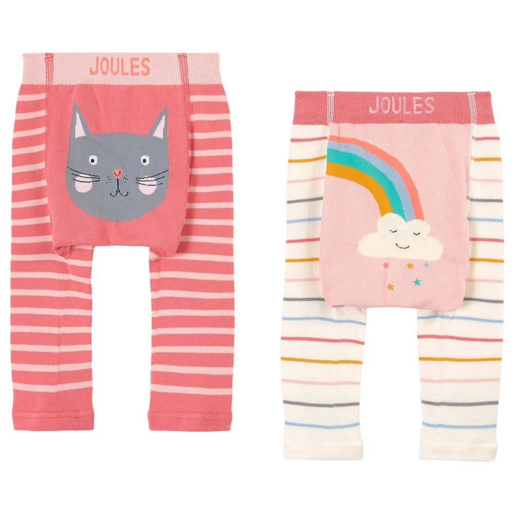Joules Joules | Lively Leggings Cat and Rainbow