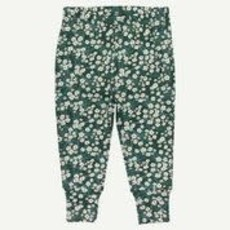 Oliver & Rain Oliver & Rain | Organic Cotton Floral Pine Green Pajamas
