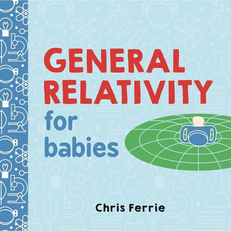 Sourcebooks General Relativity for Babies | Board Book