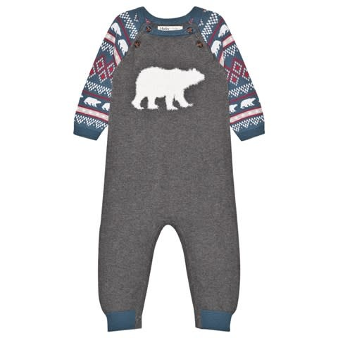 Hatley Hatley | Fair Isle Polar Bears Sweater Romper