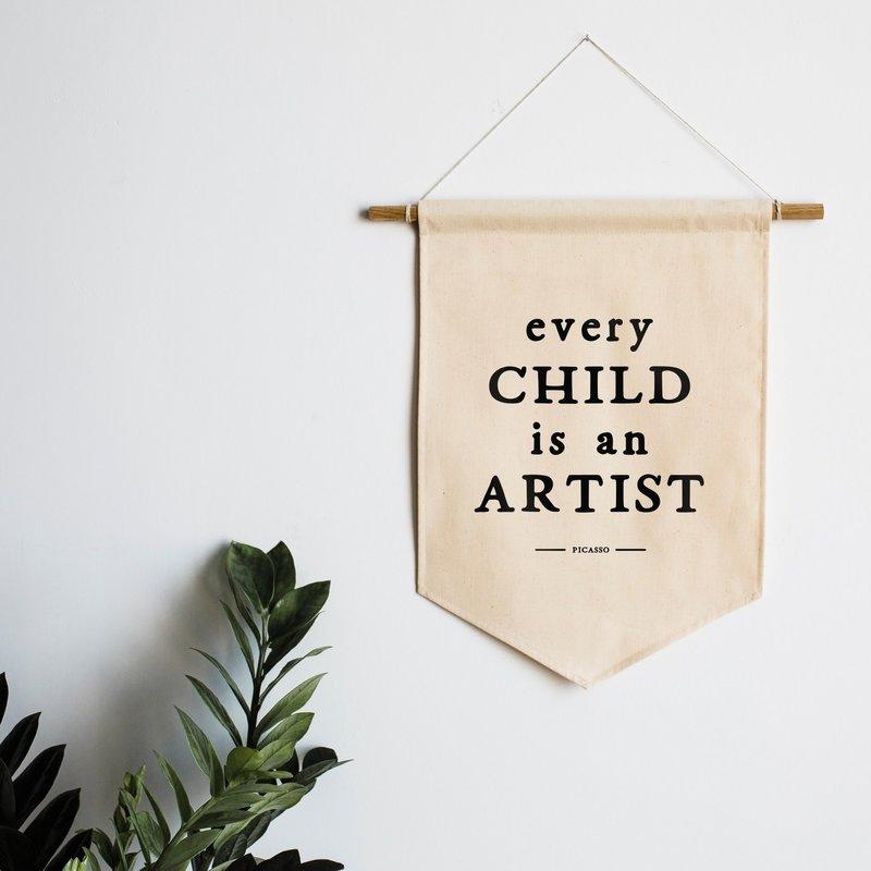 Gladfolk | Every Child is an Artist Banner