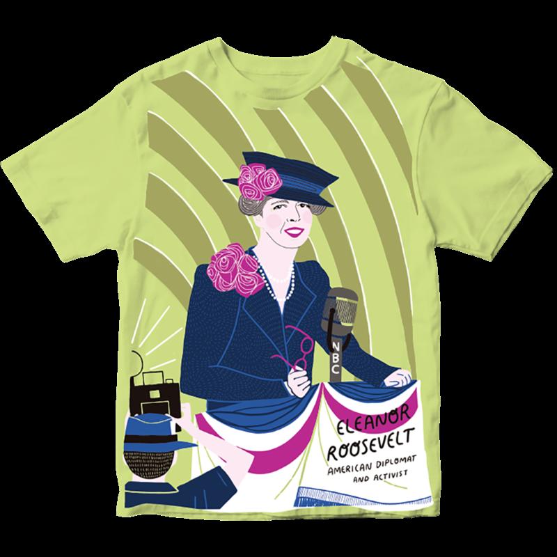 Piccolina Piccolina | Eleanor Roosevelt Short Sleeve Tee