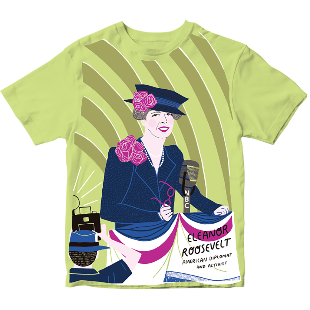 Piccolina Piccolina | Eleanor Roosevelt Short Sleeve Tee