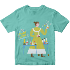 Piccolina Piccolina | Marie Curie Short Sleeve Tee
