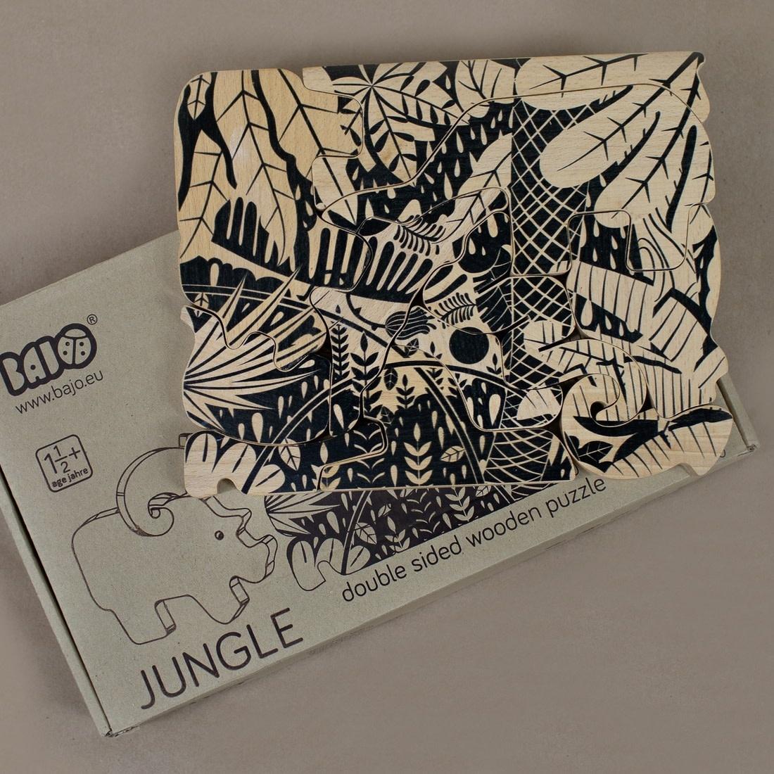 BAJO BAJO | Double-Side Jungle Puzzle