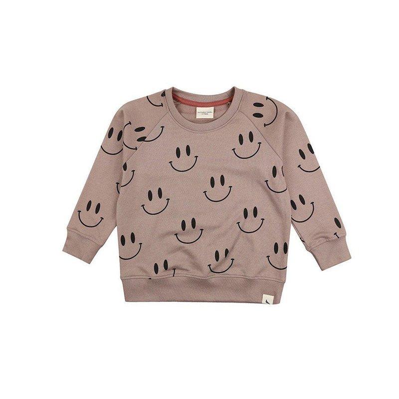 Turtledove London Turtledove London   Organic Cotton Smiley Sweatshirt