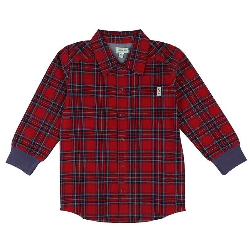 Lilly + Sid | Woven Check Shirt