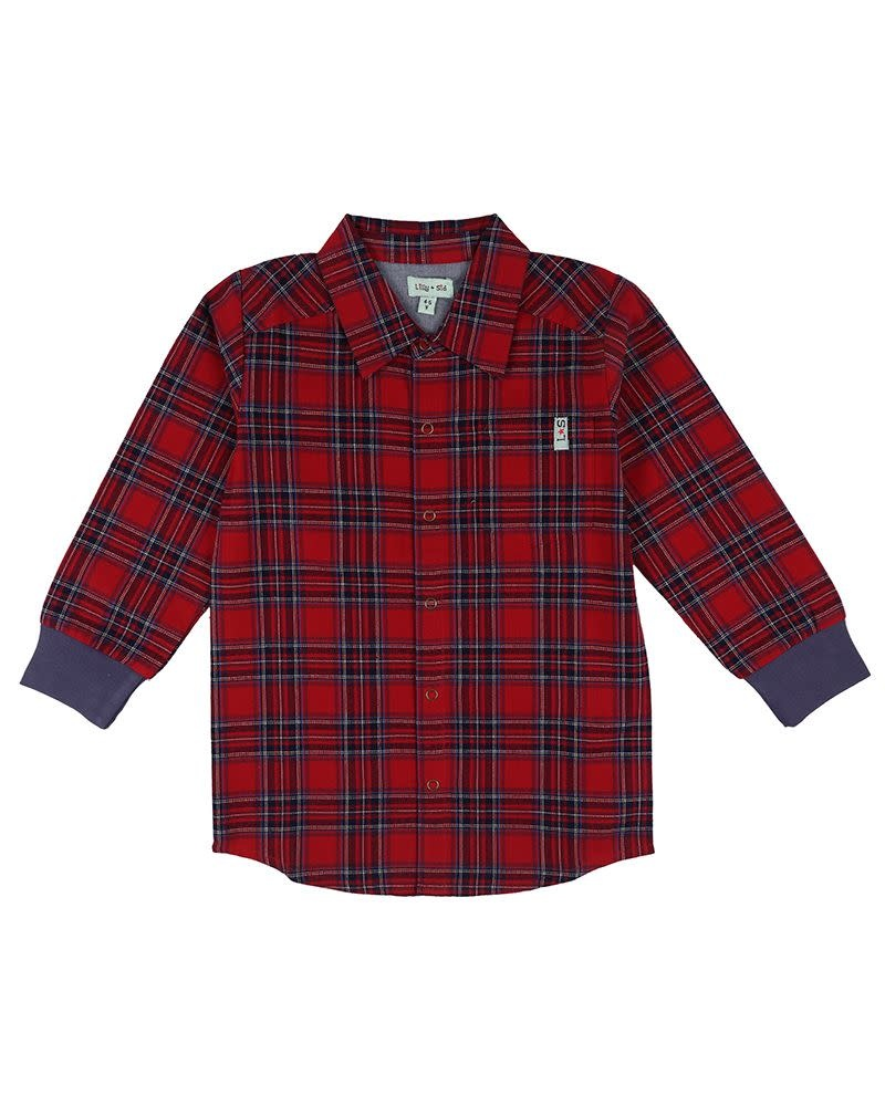 Lilly + Sid Lilly + Sid | Woven Check Shirt