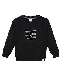 Turtledove London Turtledove London | Bear Applique Organic Cotton Crewneck Sweatshirt