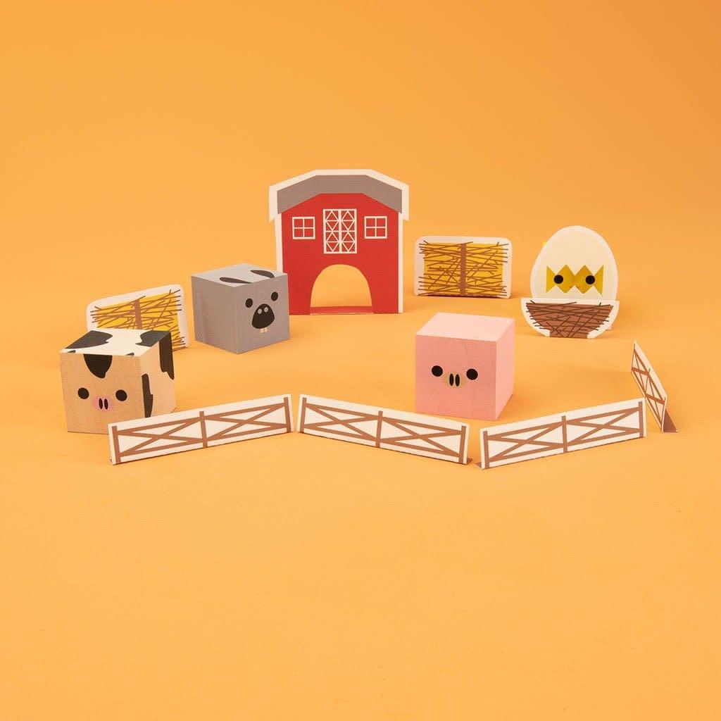 Uncle Goose Uncle Goose | Cubeling Farm Blocks