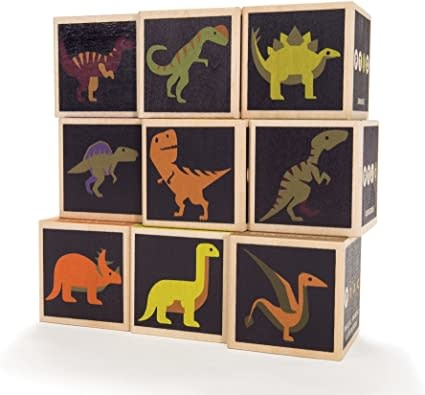 Uncle Goose Uncle Goose | Dinosaur Blocks