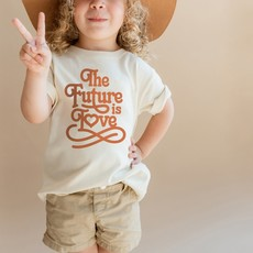 Polished Prints   The Future is Love Tee