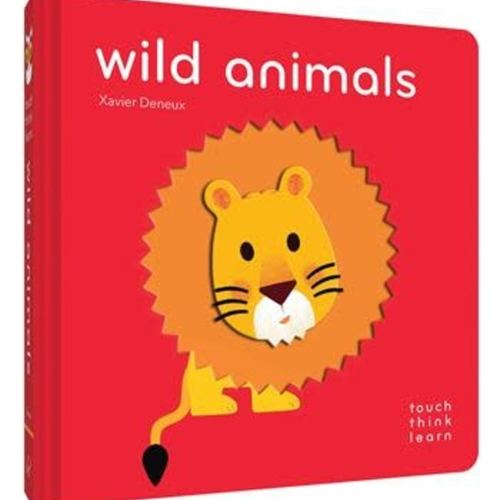TouchThinkLearn: Wild Animals  Board Book