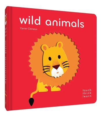 TouchThinkLearn: Wild Animals| Board Book