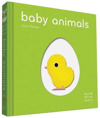 TouchThinkLearn | Baby Animals Board Book