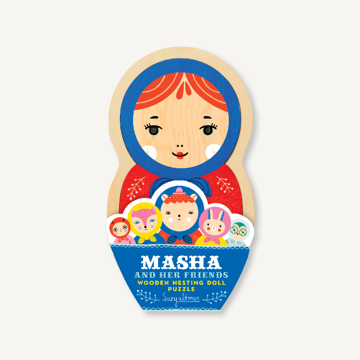 Masha and Her Friends Nesting Doll Puzzle
