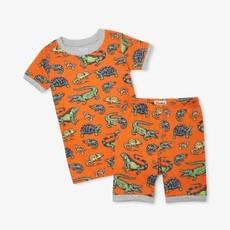 Hatley Hatley   Aquatic Reptiles Short Pajamas