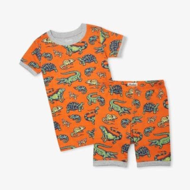 Hatley | Aquatic Reptiles Short Pajamas