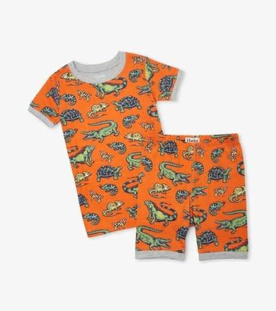 Hatley Hatley | Aquatic Reptiles Short Pajamas
