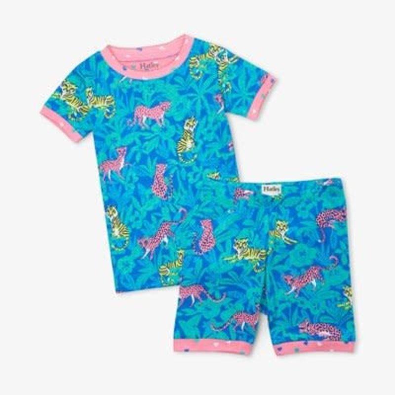 Hatley Hatley   Jungle Cats Short Pajamas