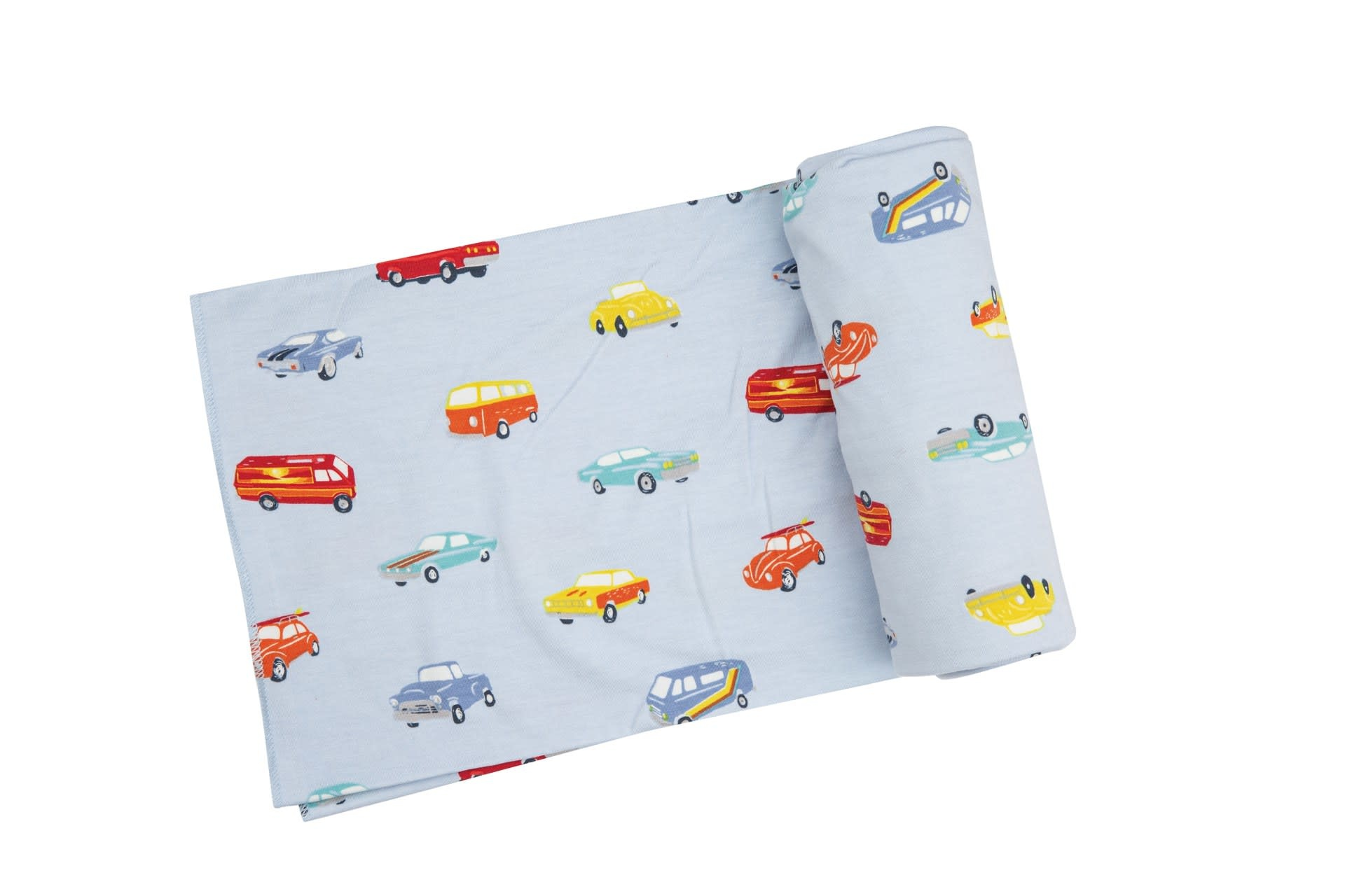 Angel Dear Angel Dear | Sweet Ride Swaddle Blanket