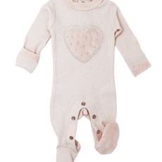 L'oved Baby L'oved Baby   Velveteen Graphic Footie