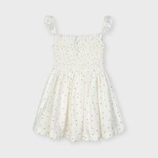 Mayoral Mayoral | Smocked Daisy Printed Dress