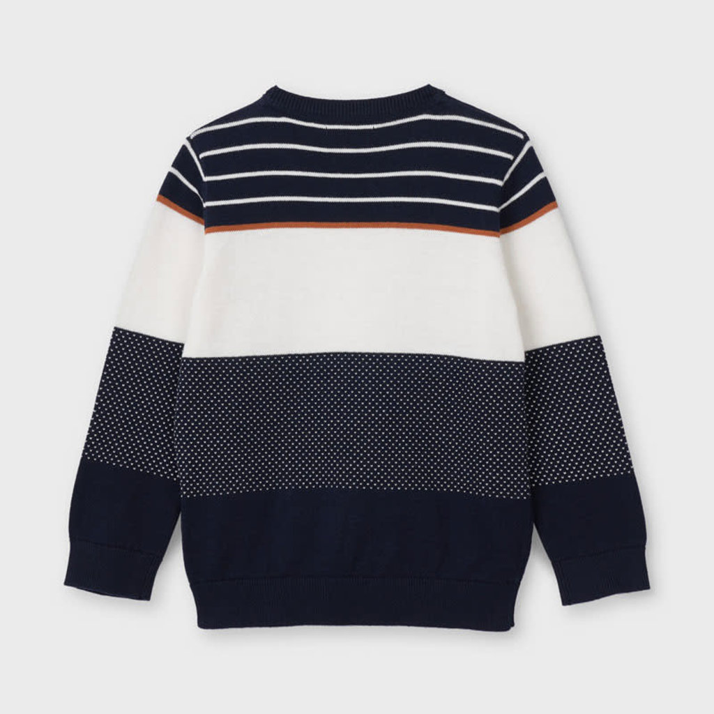 Mayoral Mayoral | Color Block Eco Sweater