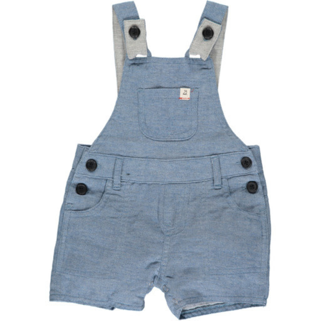 Me & Henry Me & Henry   Bowline Shortie Overall Chambray