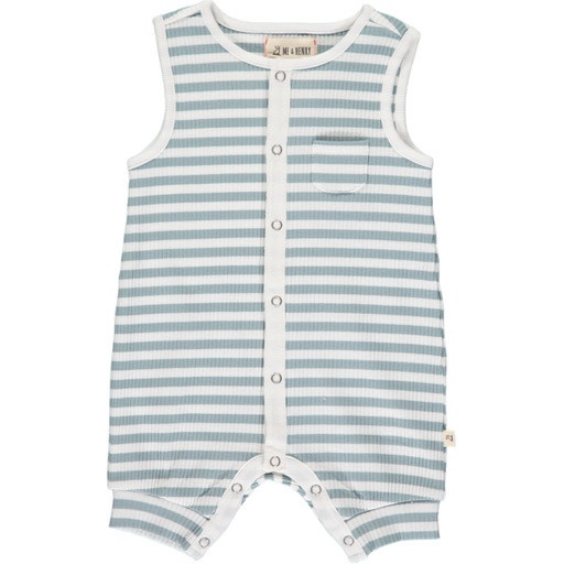 Me & Henry Me & Henry | Pablo Ribbed Playsuit