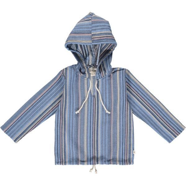 Me & Henry Me & Henry | St. Ives Gauze Hooded Top Stripes