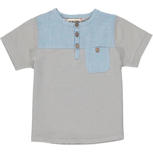 Me & Henry Me & Henry | Boardwalk Henley Grey/Blue