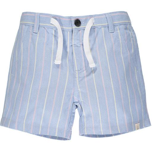 Me & Henry Me & Henry | Crew Shorts Blue/Multi Stripe