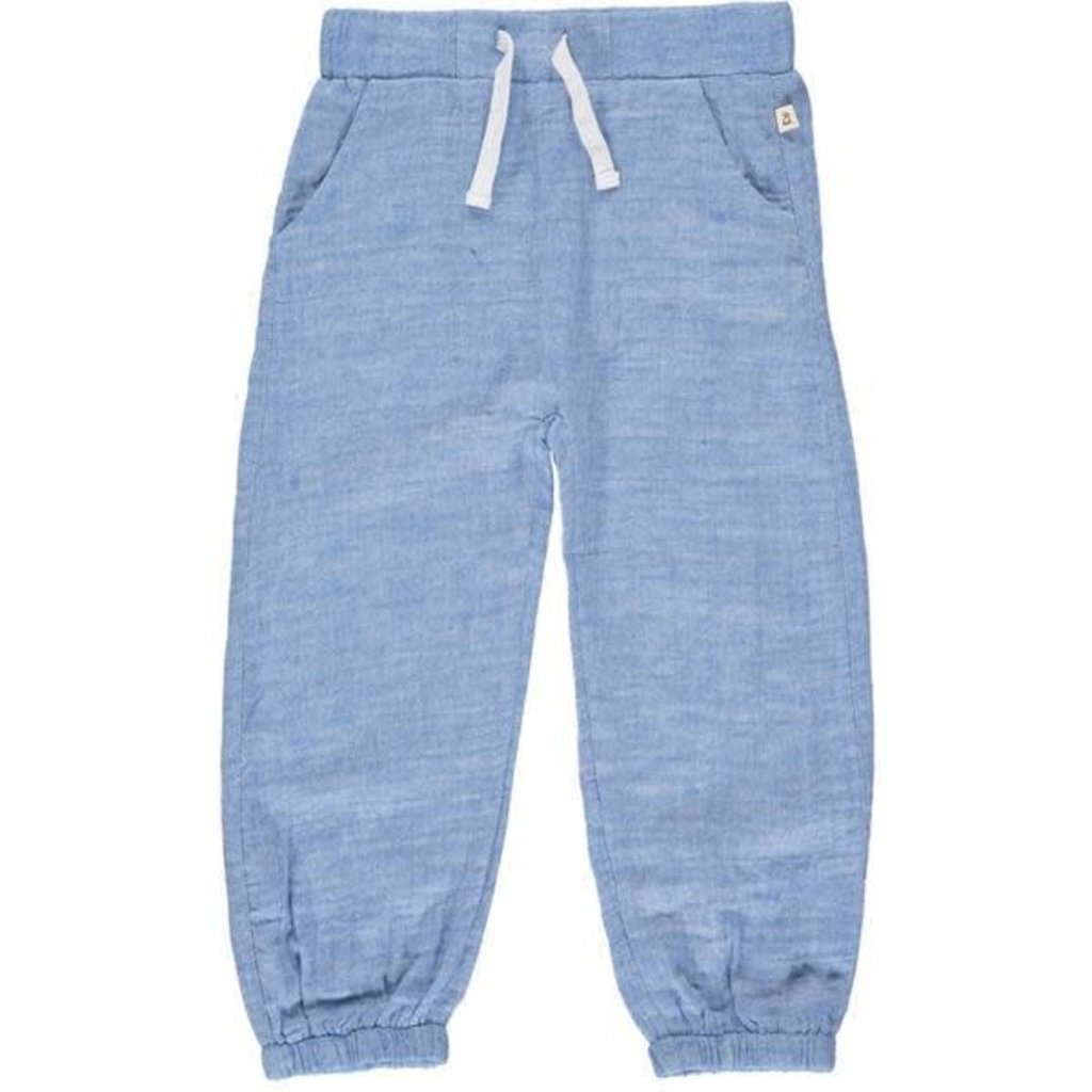 Me & Henry Me & Henry   Bosun Gauze Pants Blue