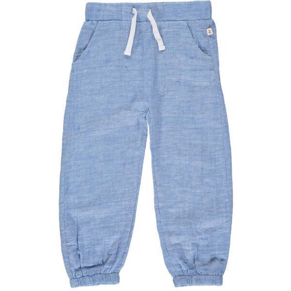 Me & Henry Me & Henry | Bosun Gauze Pants Blue